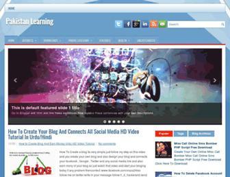 paklearning313.blogspot.com screenshot