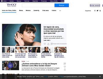 es.vida-estilo.yahoo.com screenshot