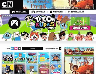 Thumbshot of Cartoonnetwork.com.tr