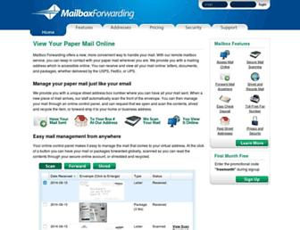Thumbshot of Mailboxforwarding.com