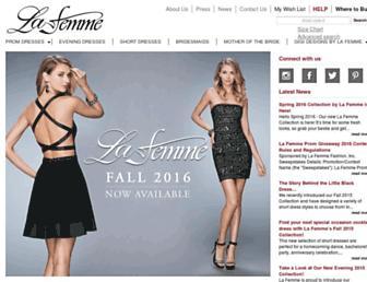 lafemmefashion.com screenshot