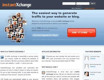 Thumbshot of Instantxchange.com