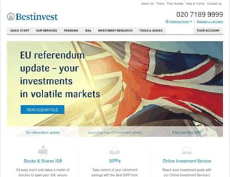 bestinvest.co.uk screenshot