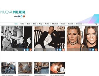 nuevamujer.com screenshot