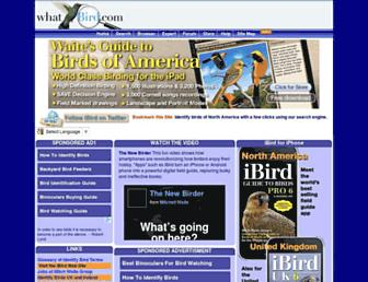 Thumbshot of Whatbird.com