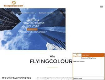 Thumbshot of Flyingcolour.net