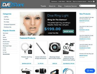 Thumbshot of Dvestore.com