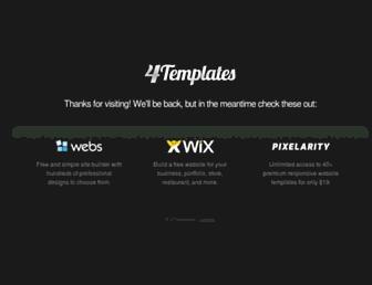 Thumbshot of 4templates.com
