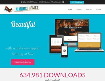 nimbusthemes.com screenshot