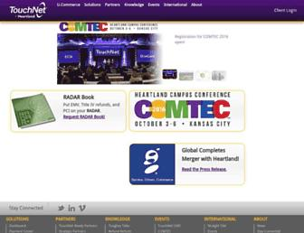 Thumbshot of Touchnet.com