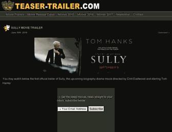 teaser-trailer.com screenshot