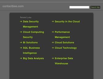 Thumbshot of Contactbee.com