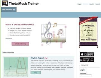 Thumbshot of Thetamusic.com