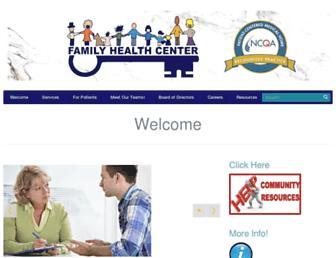 cowlitzfamilyhealth.org screenshot