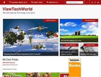 viewtechworld.blogspot.com screenshot