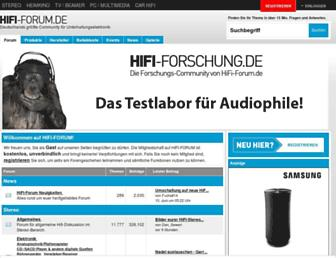 hifi-forum.de screenshot