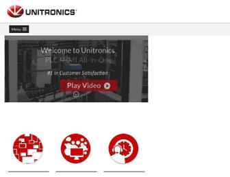 unitronicsplc.com screenshot
