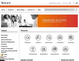 Thumbshot of Johnwiley.com.au