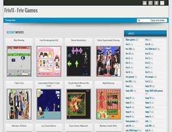 friv11frivgames.blogspot.com screenshot