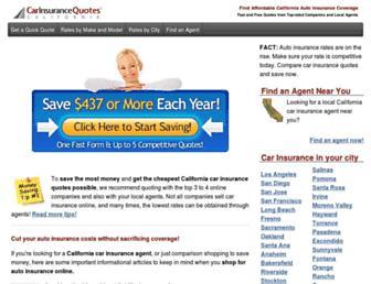 carinsurancequotes-california.com screenshot