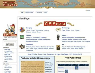 yppedia.puzzlepirates.com screenshot