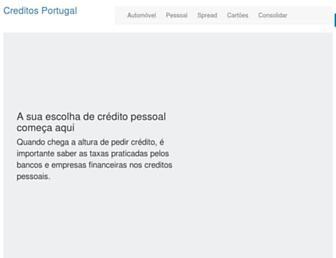 Thumbshot of Creditos-portugal.com