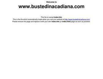 Screenshot for bustedinacadiana.com