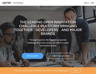 agorize.com screenshot
