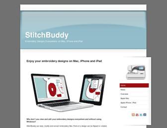 stitchbuddy.de screenshot