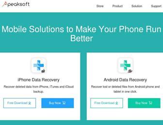 apeaksoft.com screenshot