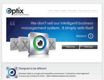 optix.co.uk screenshot