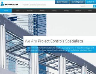taradigm.com screenshot