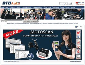 dtdauto.com screenshot