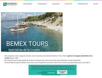 bemextours.com screenshot
