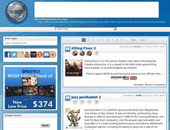 wsgf.org screenshot