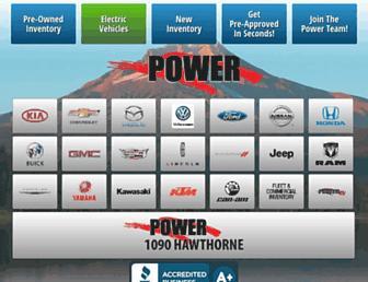 powerautogroup.com screenshot