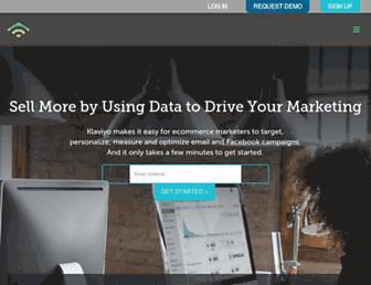 klaviyo.com screenshot