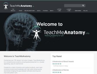 teachmeanatomy.info screenshot