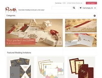 parekhcards.com screenshot