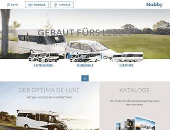 hobby-caravan.de screenshot