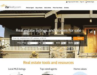 Thumbshot of Ziprealty.com