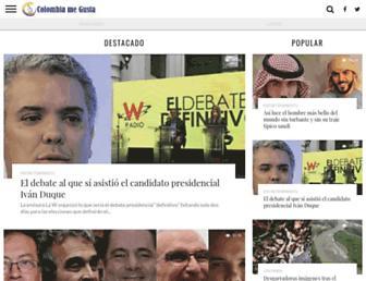 colombiamegusta.com screenshot