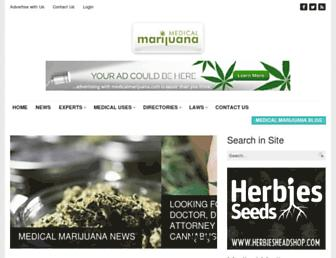 Thumbshot of Medicalmarijuana.com