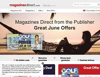 Thumbshot of Magazinesdirect.com