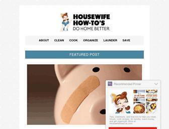 housewifehowtos.com screenshot
