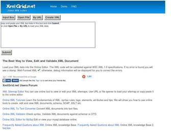 xmlgrid.net screenshot