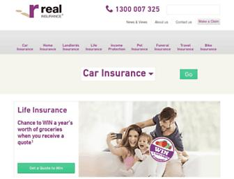 Thumbshot of Realinsurance.com.au