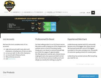 Thumbshot of Lolskinshop.com