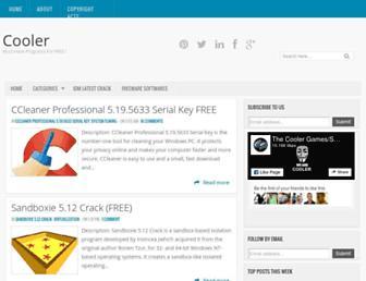 thecoolersoftwares.net screenshot