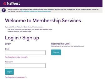 membershipbenefits.natwest.com screenshot